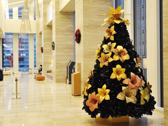 2019年名古屋JRゲートタワーホテル様クリスマスツリーの装飾